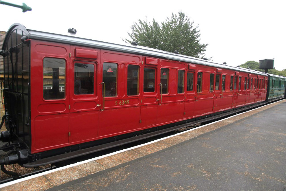 IOW red coach