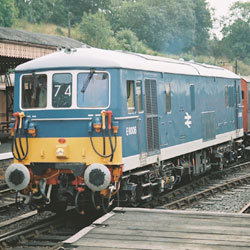 Class 73 Electric at Bewdley