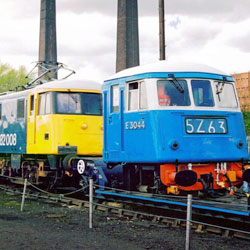 Class 82 Electric at Barrow Hill