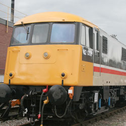 Class 83 Electric at Crewe