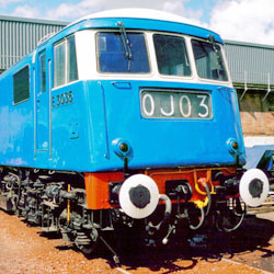 Class 83 Electric at Barrow Hill