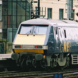 Class 91 Electric at Glasgow