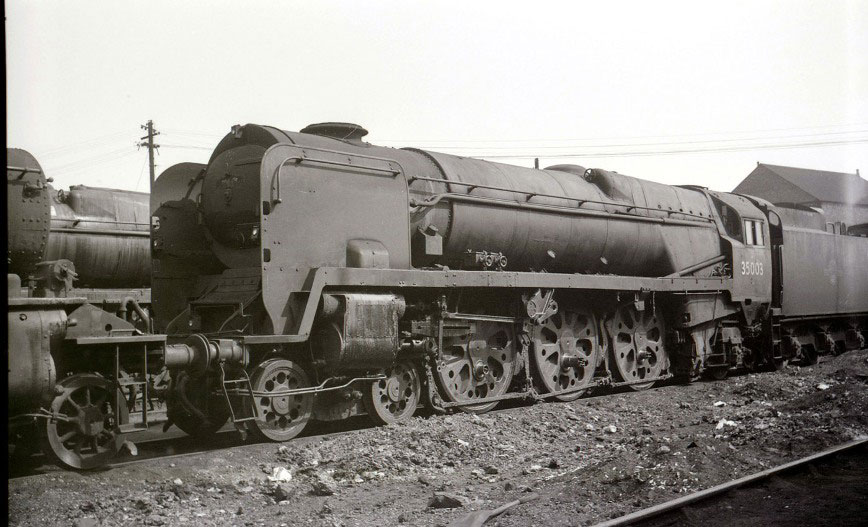 35003 scrapline 1968 by phil marsh