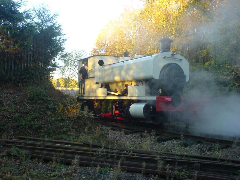 sir thomas royden test steaming Nov 2011 by Cyril Crouch