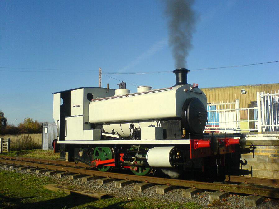 sir thomas roydens test steaming Nov 2011 by Cyril Crouch