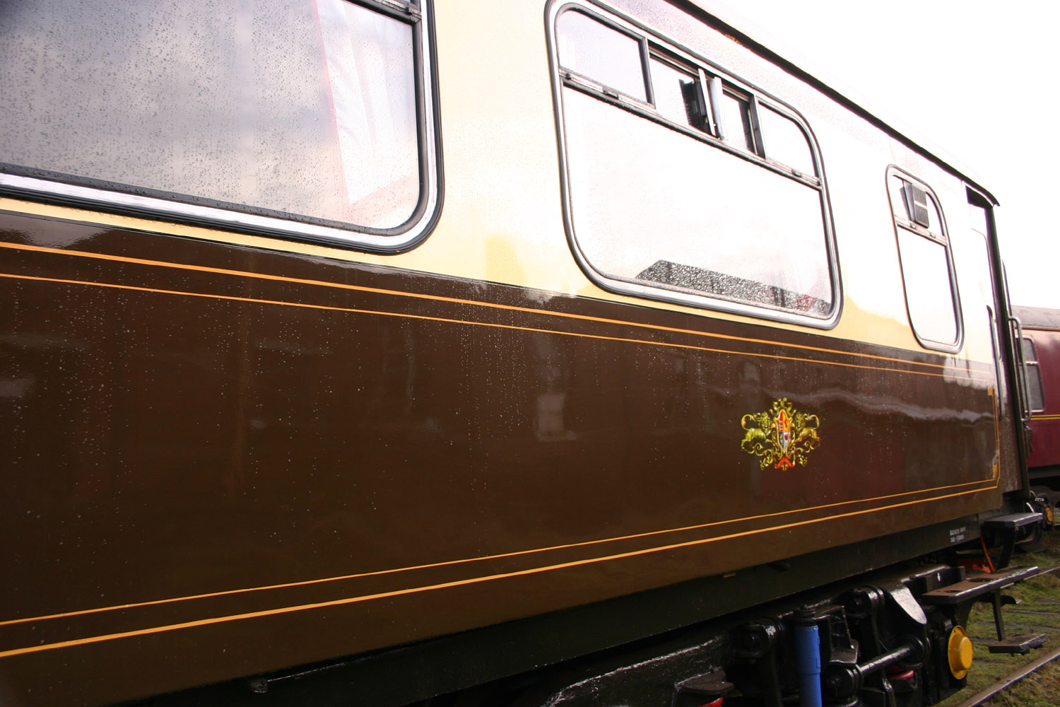 Pullman Coach by Phil Marsh