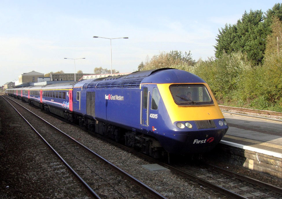 FGW HST at Swindon by Phil Marsh