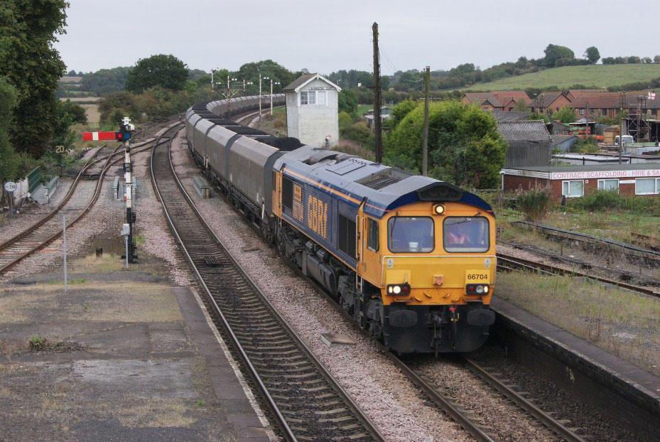 GB Railfreight already operates a diverse range of services by Nick Hair