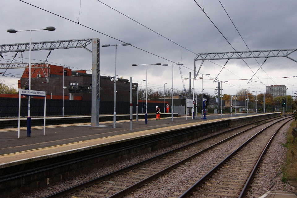 West Hampstead Thameslink – Extended Platform by Nick Hair