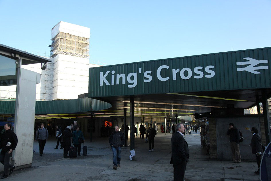 kings cross station upgrade by Phil Marsh