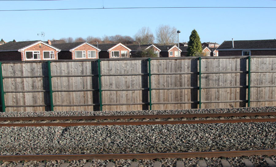 provision of noise barriers on new lines by Phil Marsh