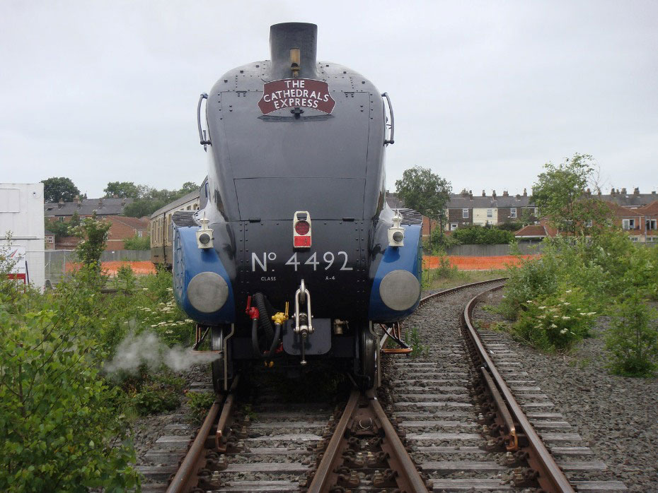 turning an engine on the york triangle by phil marsh
