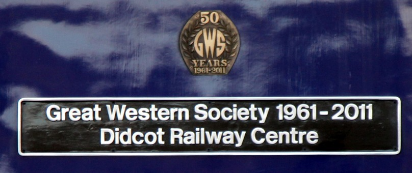 Great Western Society nameplate on 43024 by Phil Marsh