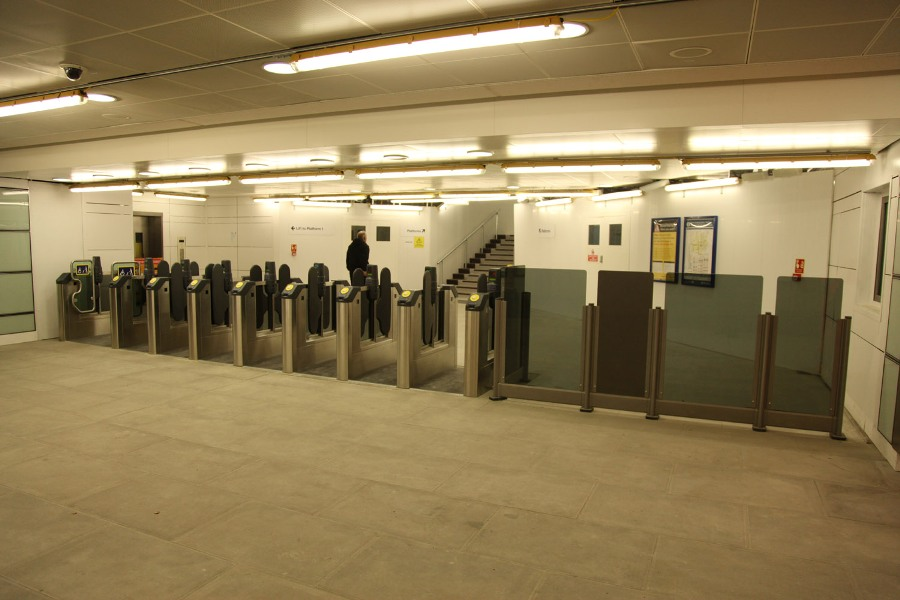 new southern entrance at Blackfriars by Phil Marsh