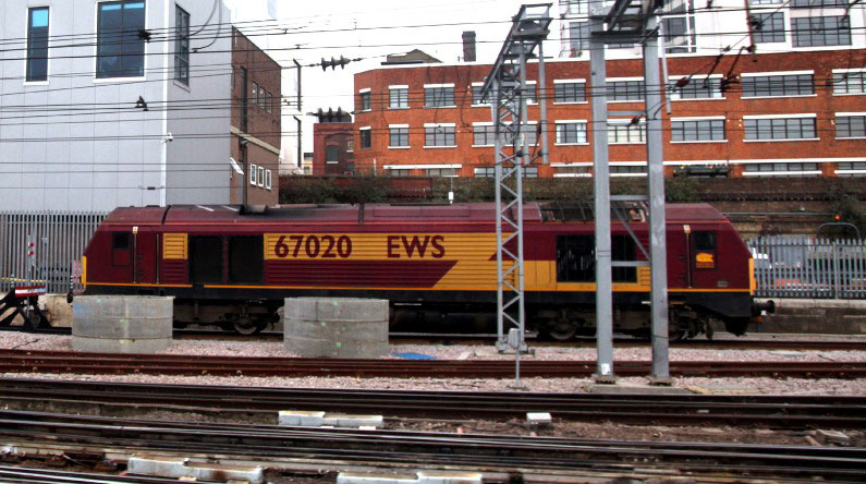 kings cross 67020 by phil marsh