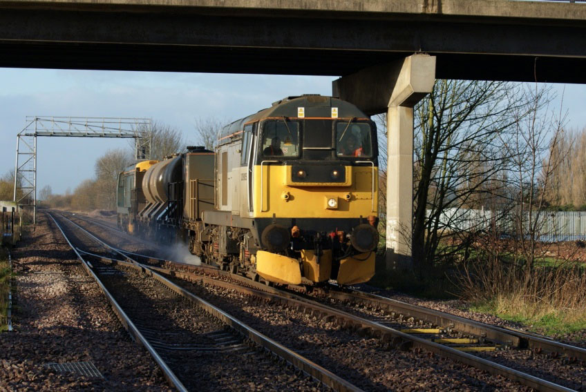 Class 20 Locomotives on Rail Head Treatment Duties by Nick Hair