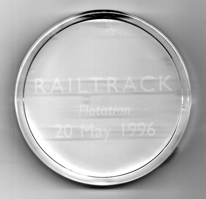 railtrack flotation crystal by phil marsh