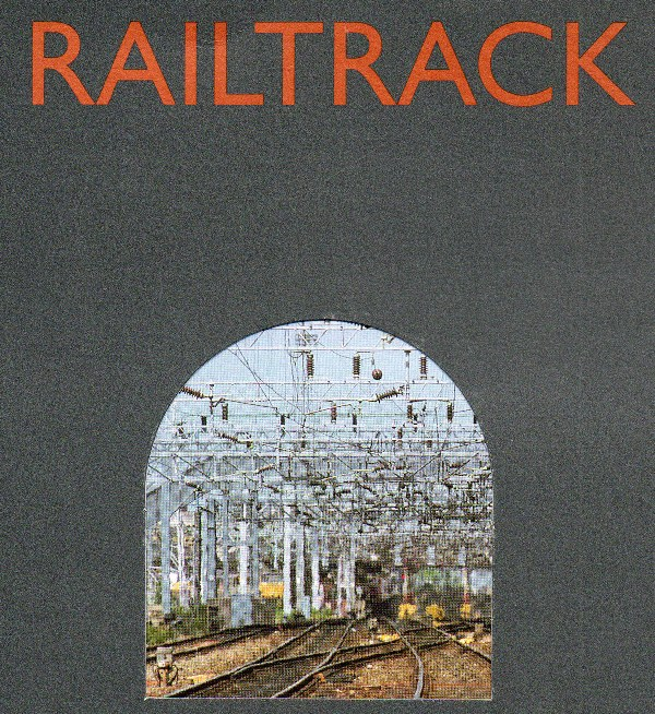 railtrack launch brochure by phil marsh