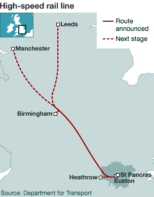 7. hs2 map by department for transport