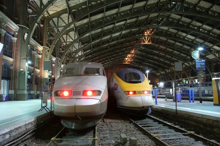 13 tgv and eurostar at lille phil marsh