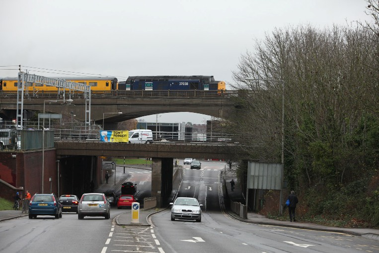 bletchley flyover test train phil marsh