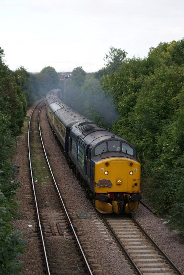 Direct Rail Services Class 37s by Nick Hair
