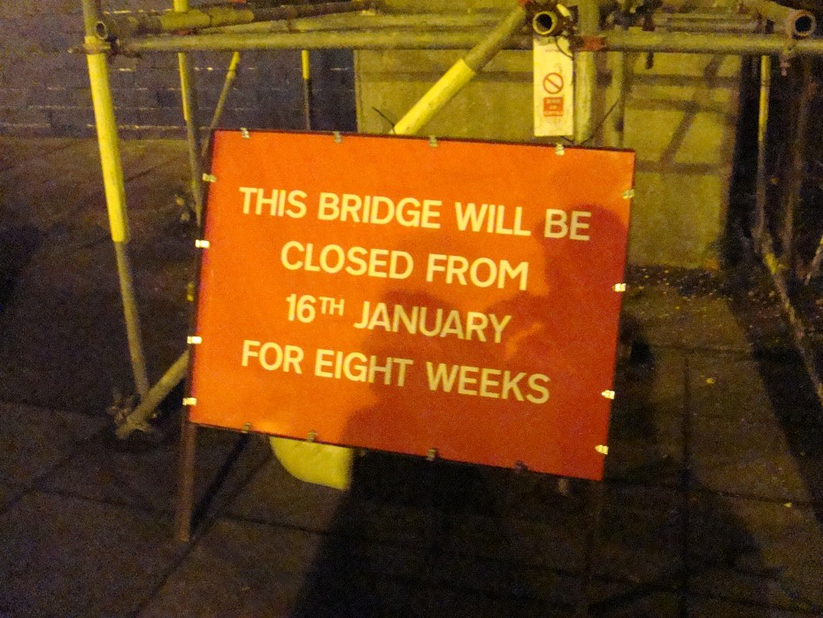 5 ryde bridge closure sign phil marsh