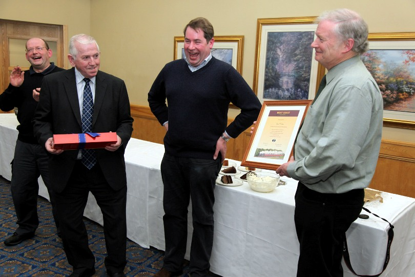 paddy mcabe presentation shuttleworth peter walker ops manager phil marsh