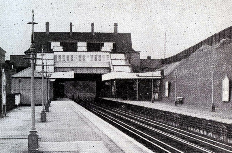 1925 croxley green station phil marsh