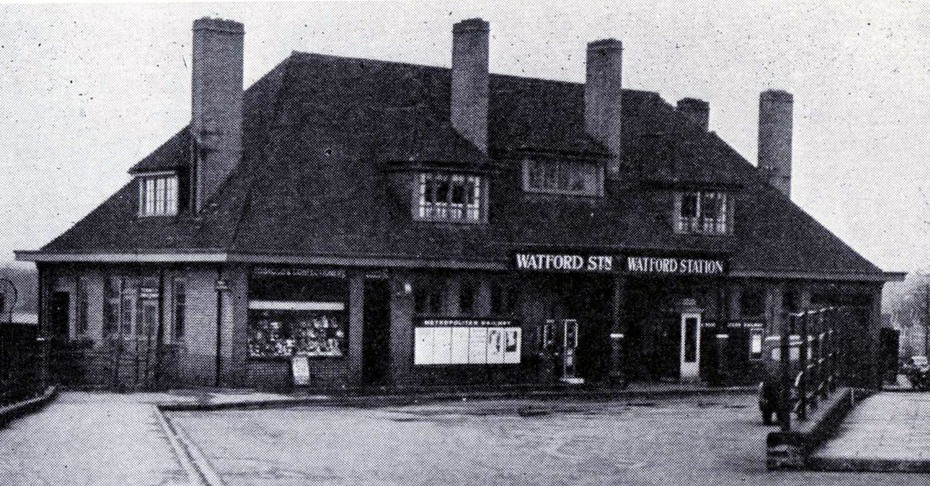 1925 watford met station when opened phil marsh