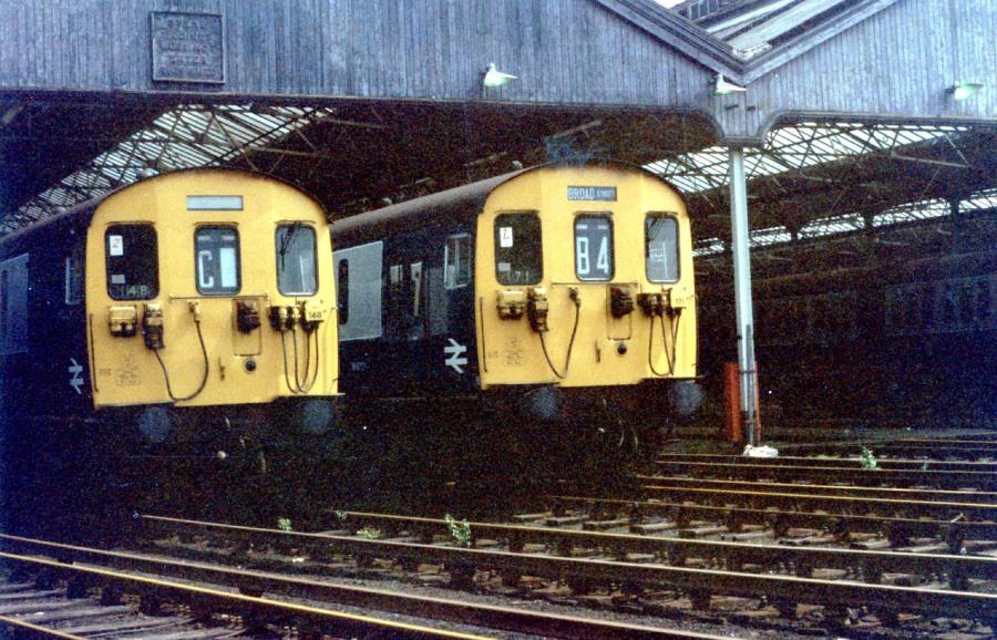1985 croxley green  electricsheds phil marsh