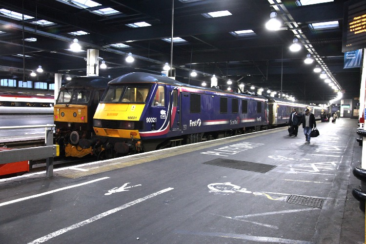 sleeper at euston by phil marsh