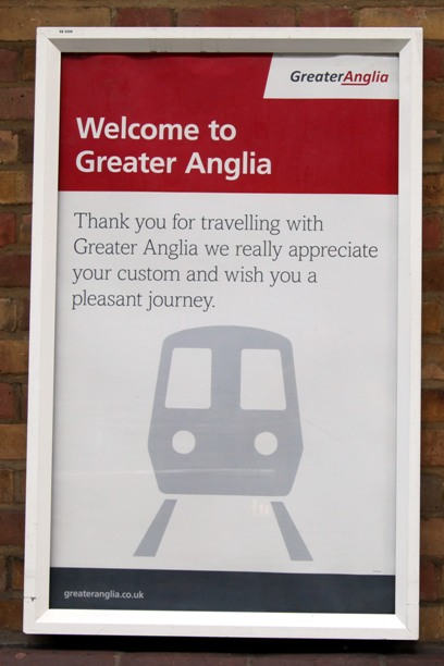 greater anglia poster by phil marsh