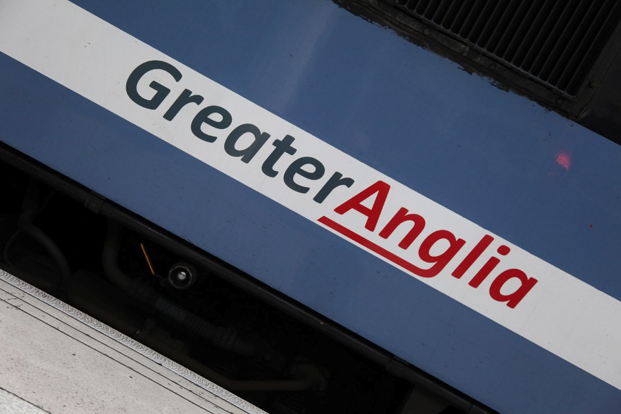 greater anglia logo by phil marsh