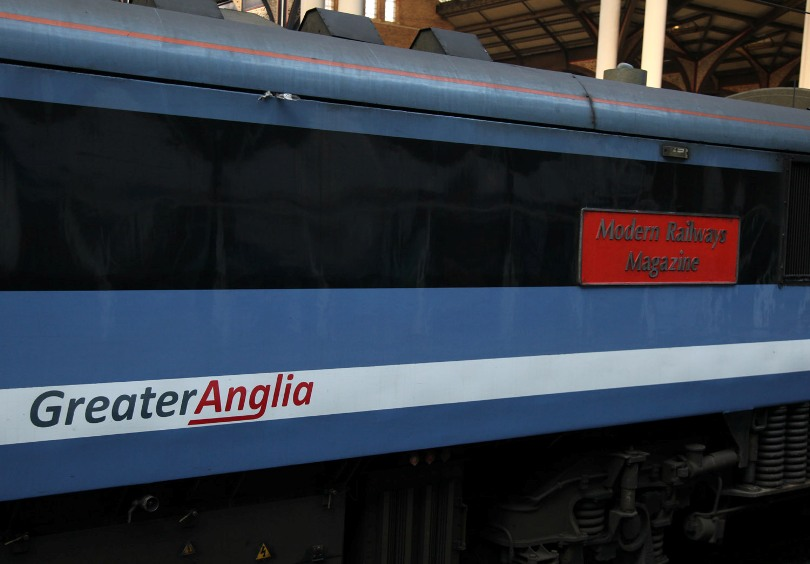 greater anglia loco logo by phil marsh