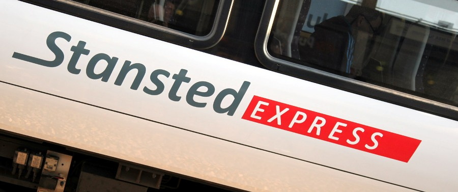stansted express carriage new logo phil marsh