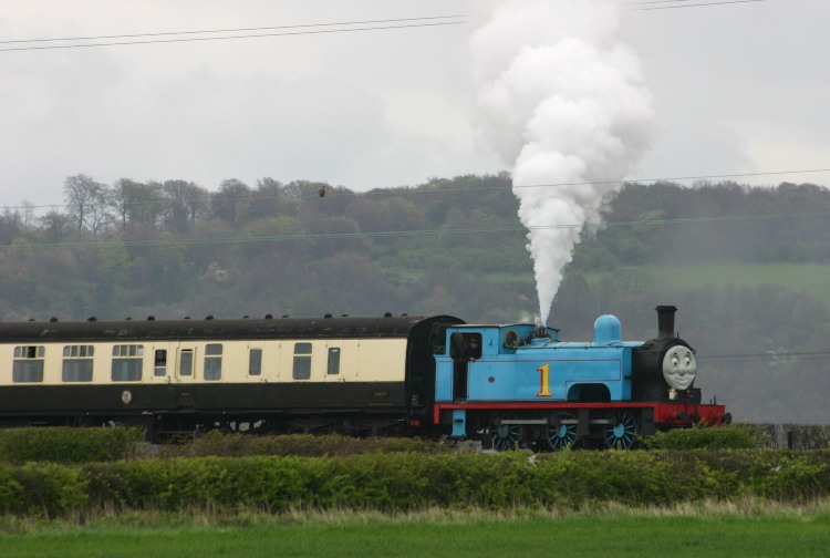 Thomas the Tank Engine taken by phil marsh