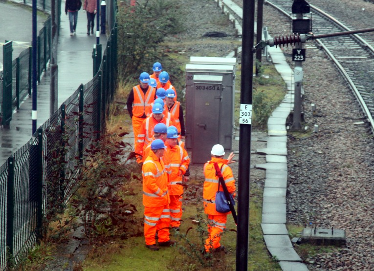 network rail maintenance gang by phil marsh