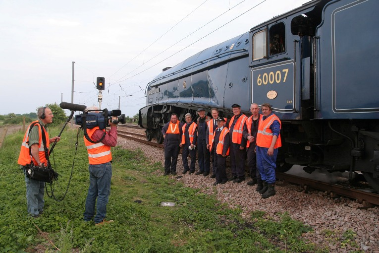 sir nigel gresley record breaker  phil marsh