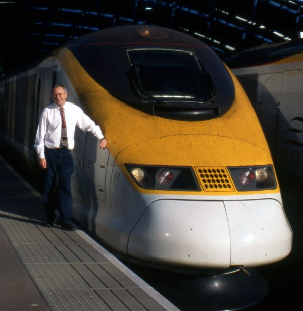 Phil Marsh and Eurostar