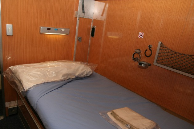 Milan - Rome sleeper bed