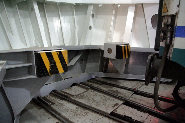 train ferry bow door buffers