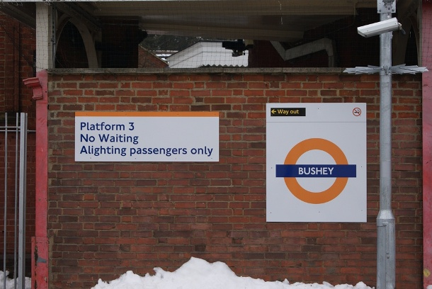 Bushey Platform 3 by Nick Hair