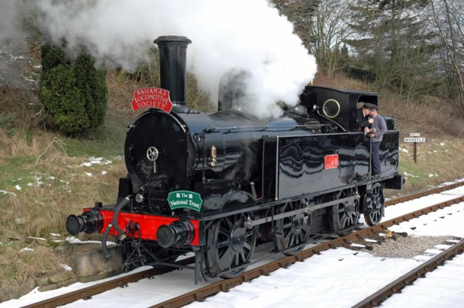 No. 1054 is now in superb condition after restoration. Paul Bickerdyke