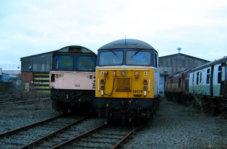 class 58 and 37 on scrap line phil marsh