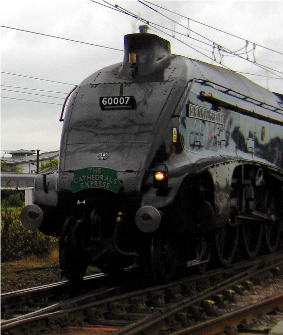 Sir Nigel Gresley No 60007 by Phil Marsh