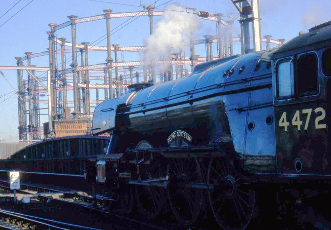 Flying Scotsman at St Pancreas 17th Oct by Phil Marsh