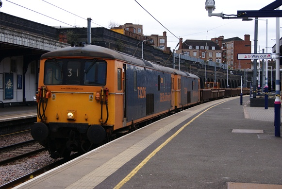 Class 73 Locomotives on Thameslink Route