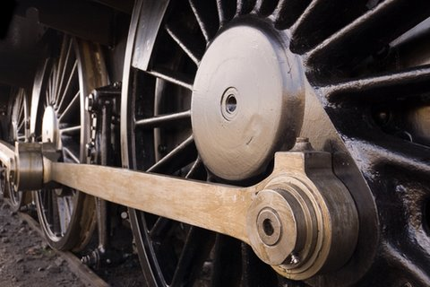 History Steam Loco Wheel