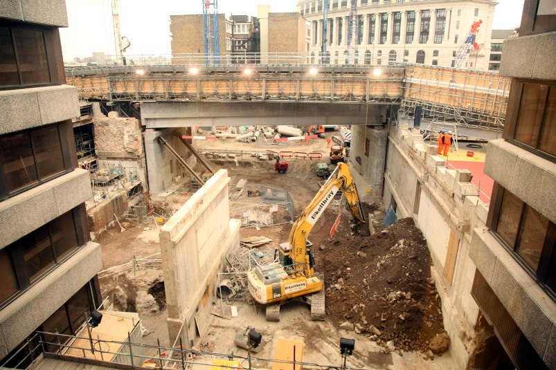 blackfriars rebuilding april 2010 by phil marsh